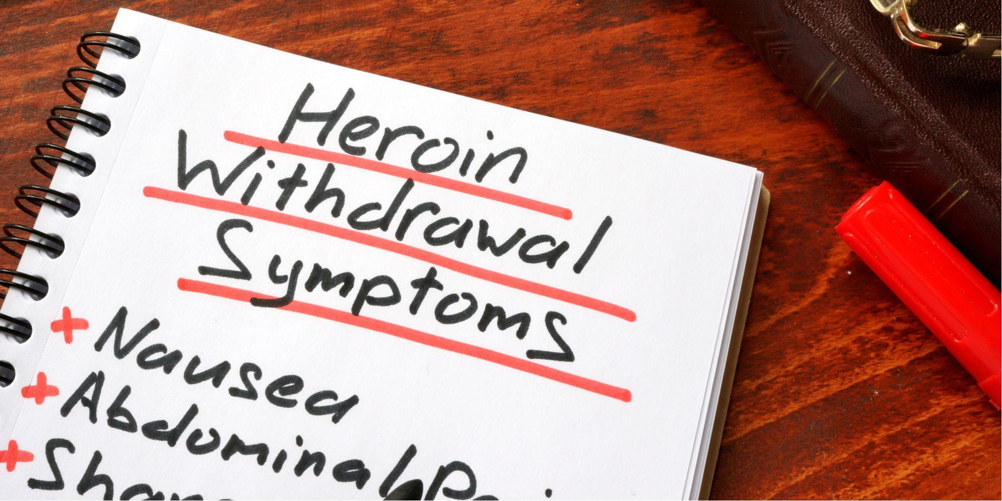 black tar heroin withdrawals