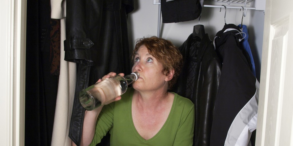 Substance abuse treatment, Hiding Your Drinking