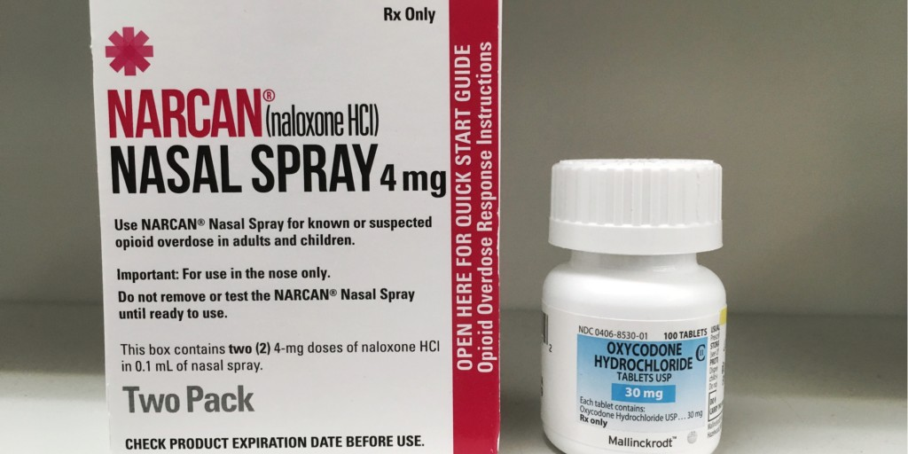 Naloxone nasal spray
